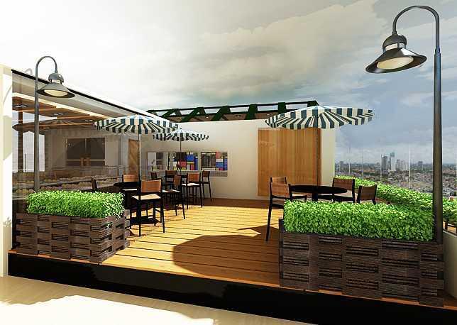Foto inspirasi ide desain restoran tropis Wilson-resto-ver-2 oleh Kreasi Wirawan Mandiri di Arsitag