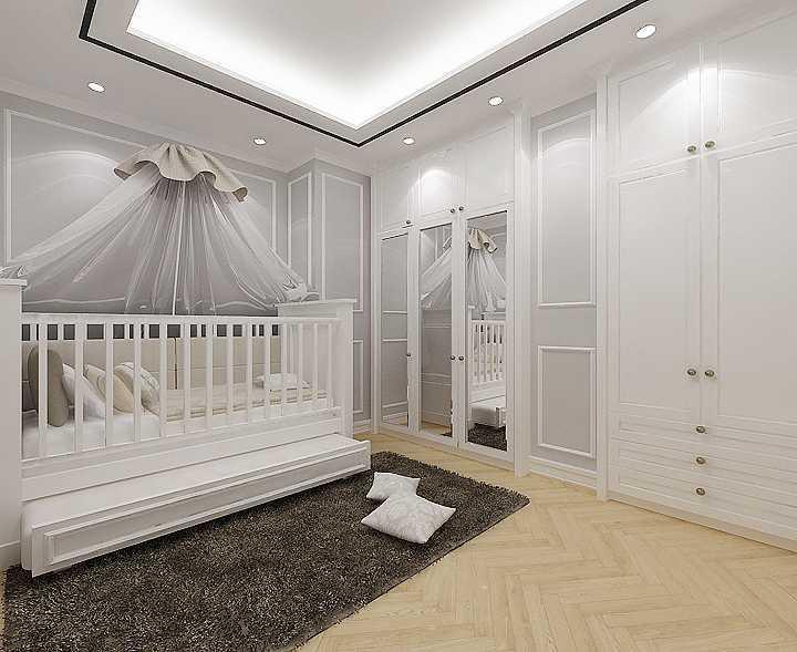 Foto inspirasi ide desain kamar tidur anak modern Kid-bedroom-copy- oleh Kreasi Wirawan Mandiri di Arsitag