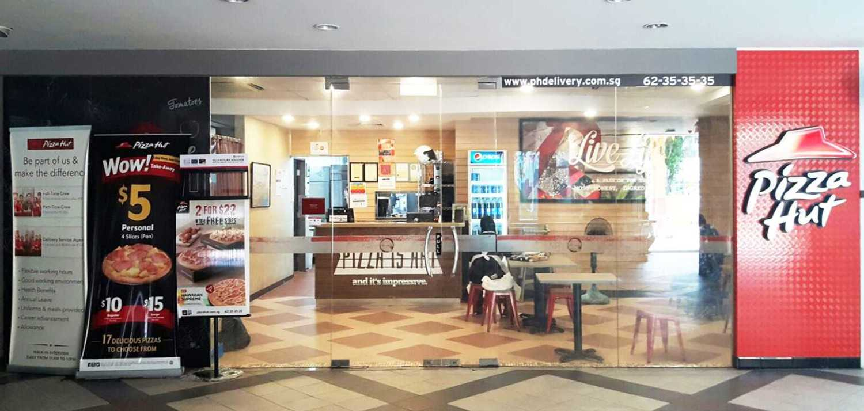 Minimmax Interiors Pte Ltd Pizza Hut Kampong Ubi 10 Jln Ubi, Singapura 409075 10 Jln Ubi, Singapura 409075 Front View Store Kontemporer 38544