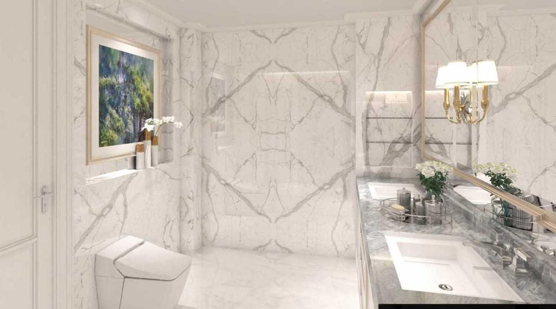 Foto inspirasi ide desain kamar mandi asian Bathroom oleh Cross Space Interior di Arsitag