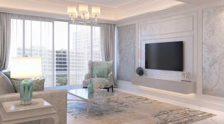 Foto inspirasi ide desain ruang keluarga asian Living room oleh Cross Space Interior di Arsitag