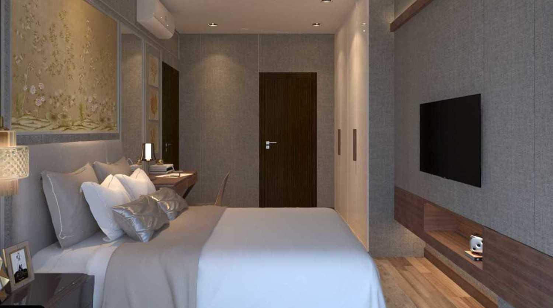 Foto inspirasi ide desain kamar tidur asian Bedroom oleh Cross Space Interior di Arsitag