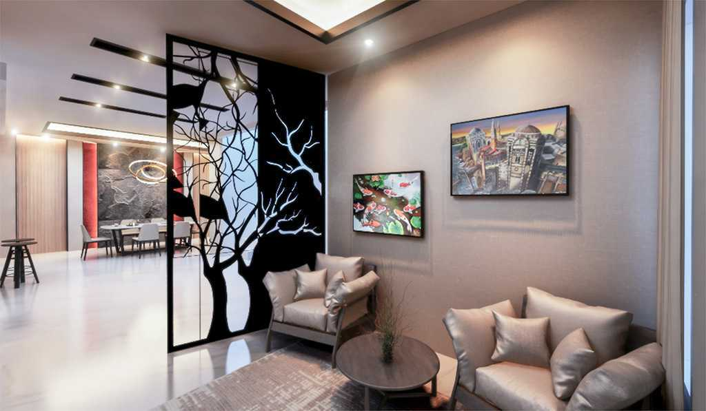 Vicasso Interior Jade House Tangerang, Kota Tangerang, Banten, Indonesia Tangerang, Kota Tangerang, Banten, Indonesia Living Room Contemporary,kontemporer 38481