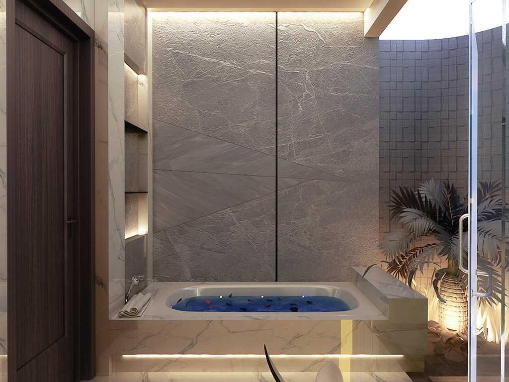 Vicasso Interior Jade House Tangerang, Kota Tangerang, Banten, Indonesia Tangerang, Kota Tangerang, Banten, Indonesia Bathroom Contemporary,kontemporer 38485
