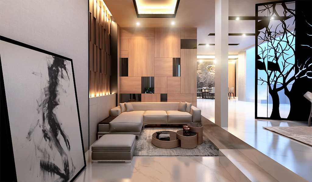Vicasso Interior Jade House Tangerang, Kota Tangerang, Banten, Indonesia Tangerang, Kota Tangerang, Banten, Indonesia Living Room Contemporary,kontemporer 38487
