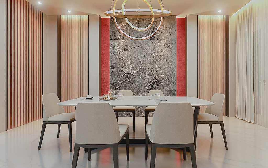 Vicasso Interior Jade House Tangerang, Kota Tangerang, Banten, Indonesia Tangerang, Kota Tangerang, Banten, Indonesia Dining Room Contemporary,kontemporer 38489