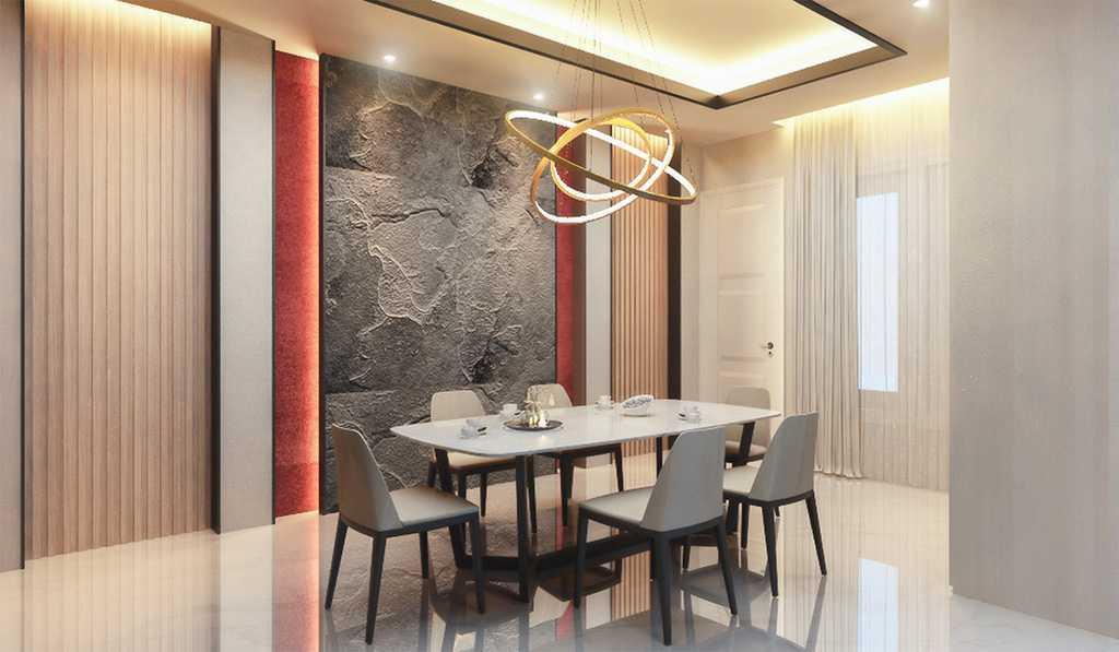 Vicasso Interior Jade House Tangerang, Kota Tangerang, Banten, Indonesia Tangerang, Kota Tangerang, Banten, Indonesia Dining Room Contemporary,kontemporer 38494