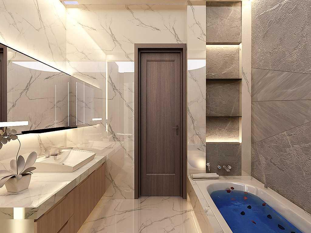 Vicasso Interior Jade House Tangerang, Kota Tangerang, Banten, Indonesia Tangerang, Kota Tangerang, Banten, Indonesia Bathroom Contemporary,kontemporer 38501