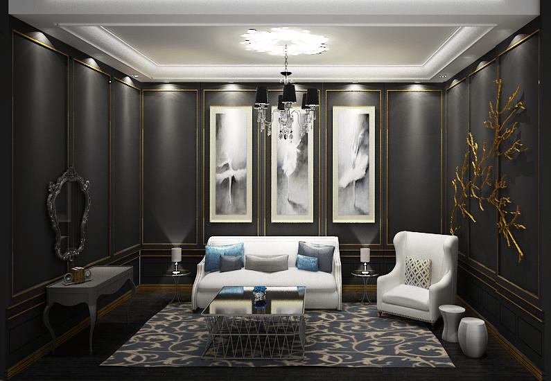 Foto inspirasi ide desain ruang keluarga victorian Bravacasa oleh ADJ Deco di Arsitag