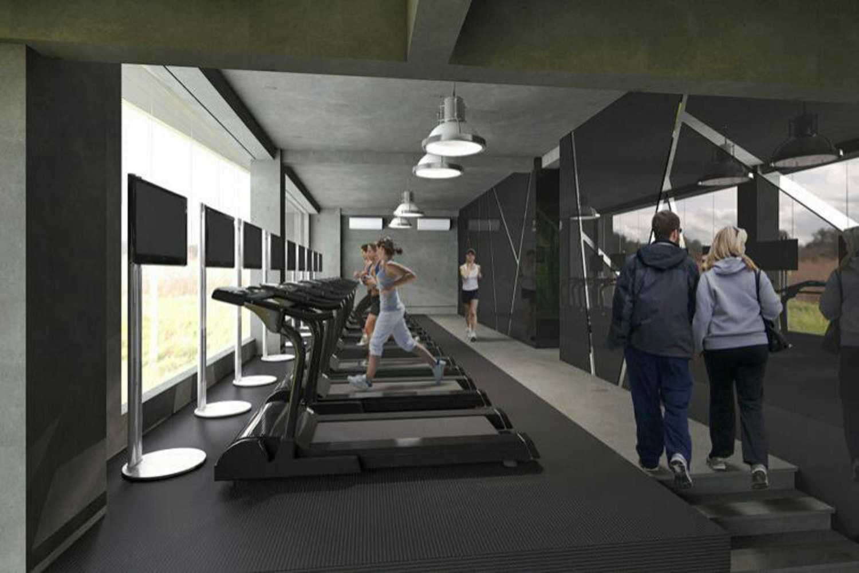 Foto inspirasi ide desain gym minimalis Gym area oleh pitho | thindramanu di Arsitag