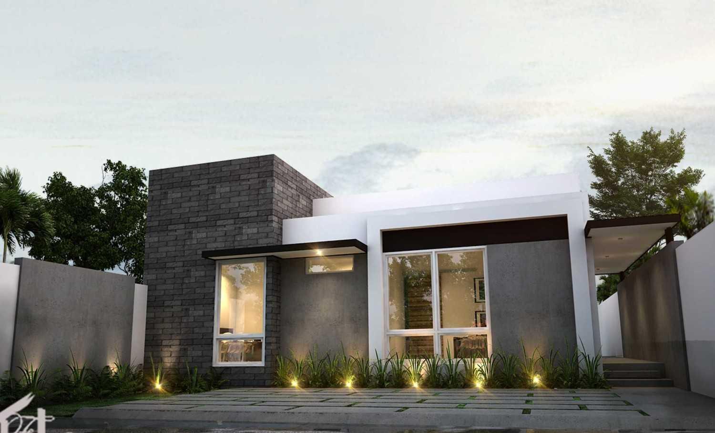 Fdesign Architect Jatiwaringin House Jatiwaringin, Pondokgede, Kota Bks, Jawa Barat, Indonesia Jatiwaringin, Pondokgede, Kota Bks, Jawa Barat, Indonesia Exterior View  49551