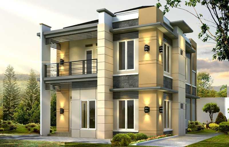 Fdesign Architect Pamulang House Pamulang, Kota Tangerang Selatan, Banten, Indonesia Pamulang, Kota Tangerang Selatan, Banten, Indonesia Facade View  49568