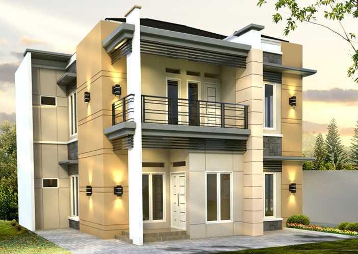 Fdesign Architect Pamulang House Pamulang, Kota Tangerang Selatan, Banten, Indonesia Pamulang, Kota Tangerang Selatan, Banten, Indonesia Facade View  49569