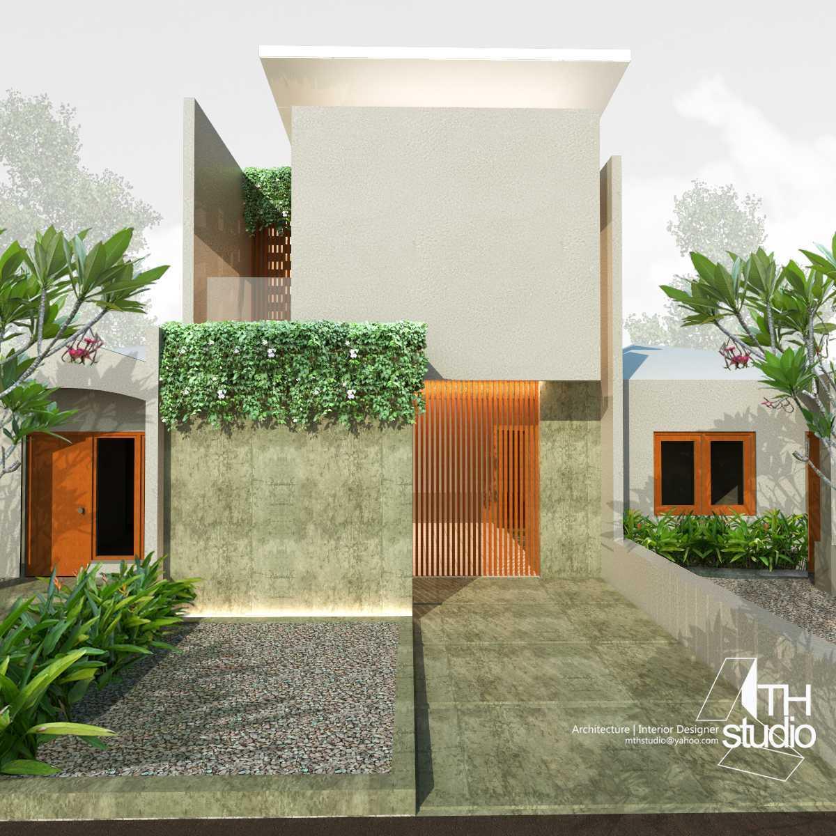 Mth Studio Rumah Taman Century 2 Bekasi.  Bekasi, Kota Bks, Jawa Barat, Indonesia Bekasi, Kota Bks, Jawa Barat, Indonesia Rumah Taman Century 2 Bekasi - Entrance Tropis 45541
