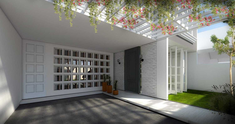 Cnd Architect Rumah Jati Asih Jatiasih, Kota Bks, Jawa Barat, Indonesia Jatiasih, Kota Bks, Jawa Barat, Indonesia Terrace Kontemporer 43728