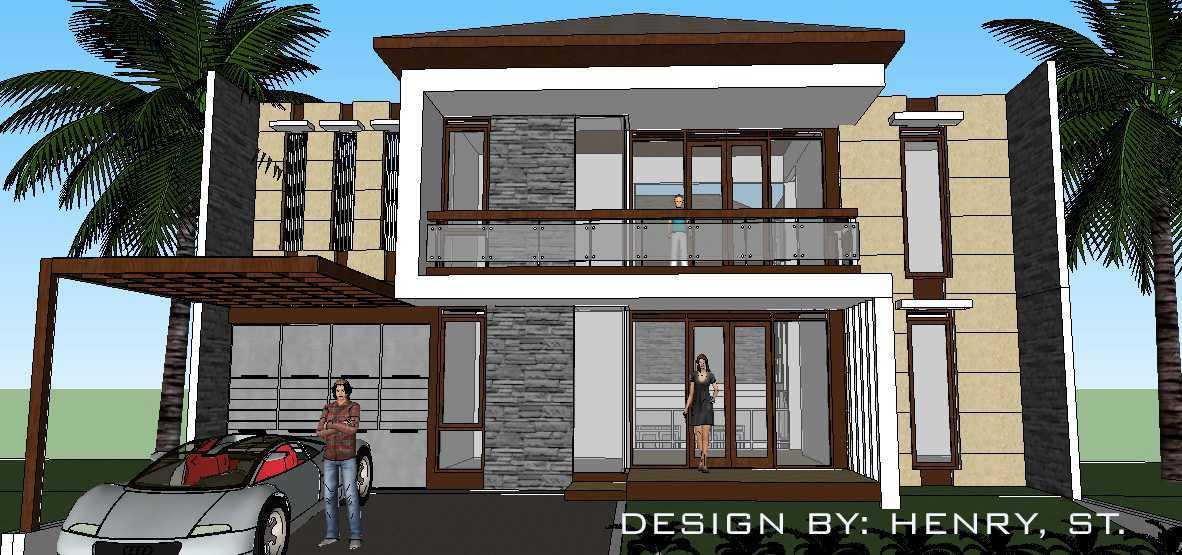 Cv. Infinity Build, Design, Property Rumah Minimalis Kota Baru Parahyangan Padalarang, Kabupaten Bandung Barat, Jawa Barat, Indonesia  Front View Rendering Minimalist 40048