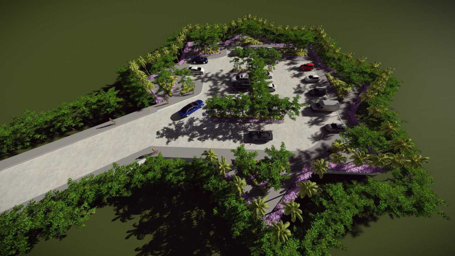 Mannor Architect Maelang Parking Area Gorontalo, Indonesia Gorontalo, Indonesia Bird Eye View  40751