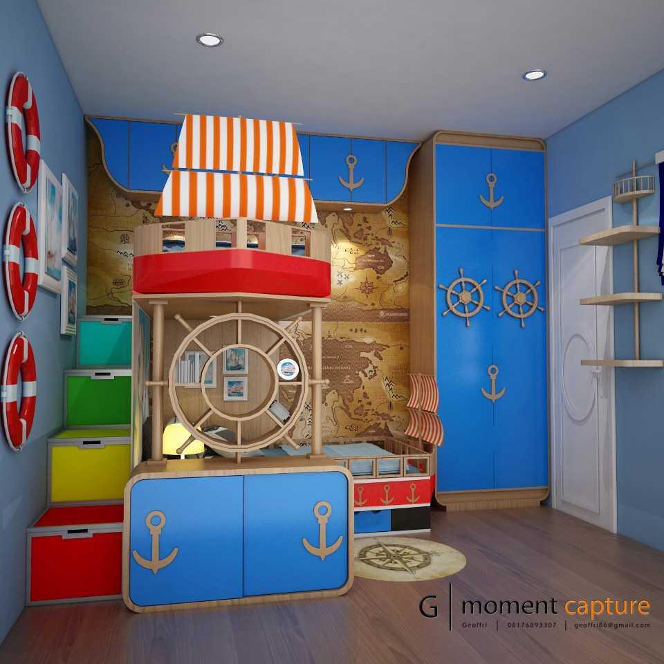 G | Momentcapture Private Residence 3 Daerah Khusus Ibukota Jakarta, Indonesia Daerah Khusus Ibukota Jakarta, Indonesia Kids Bedroom  40695