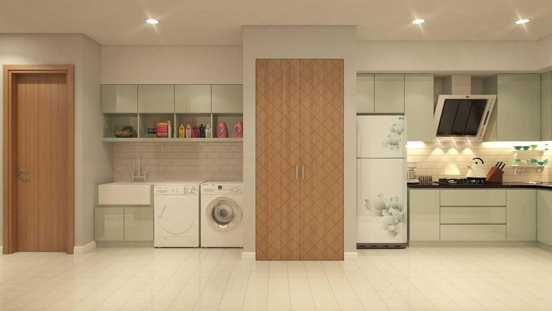 Foto inspirasi ide desain laundry Interior view oleh PT DEKORASI HUNIAN INDONESIA di Arsitag
