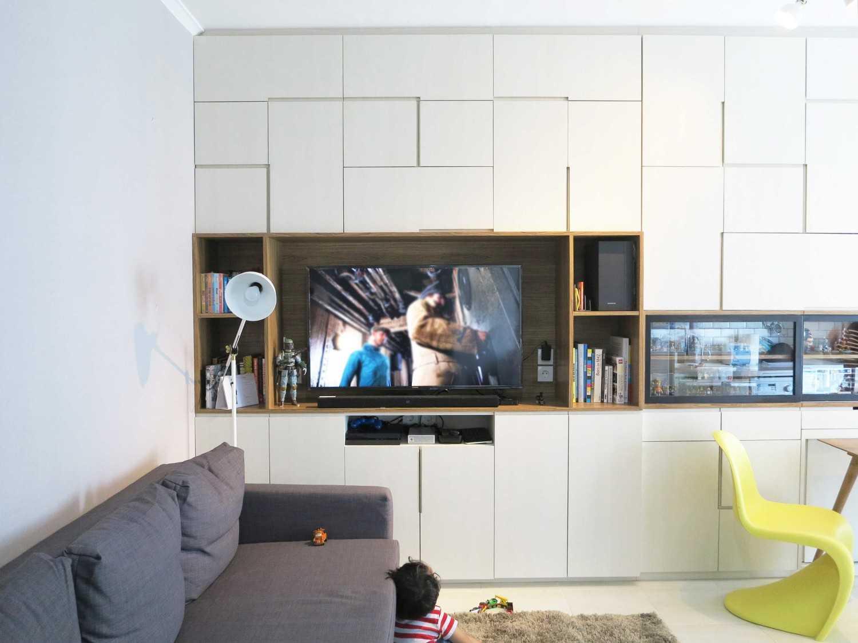 We+W Design Sudpark Apartment Jakarta, Daerah Khusus Ibukota Jakarta, Indonesia  Sudpark Apartment - Living Room Modern 41270