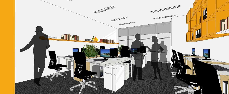 We+W Design 9Comm Office Jakarta Selatan, Kota Jakarta Selatan, Daerah Khusus Ibukota Jakarta, Indonesia Jl. Mampang Prpt. Raya, Rt.6/rw.6, Mampang Prpt., Kota Jakarta Selatan, Daerah Khusus Ibukota Jakarta 12790, Indonesia 9Comm Office - Staff Working Area Modern 41471