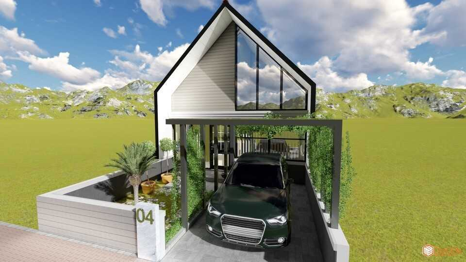 Foto inspirasi ide desain garasi tropis Garage oleh Exacon Multi Rekayasa di Arsitag