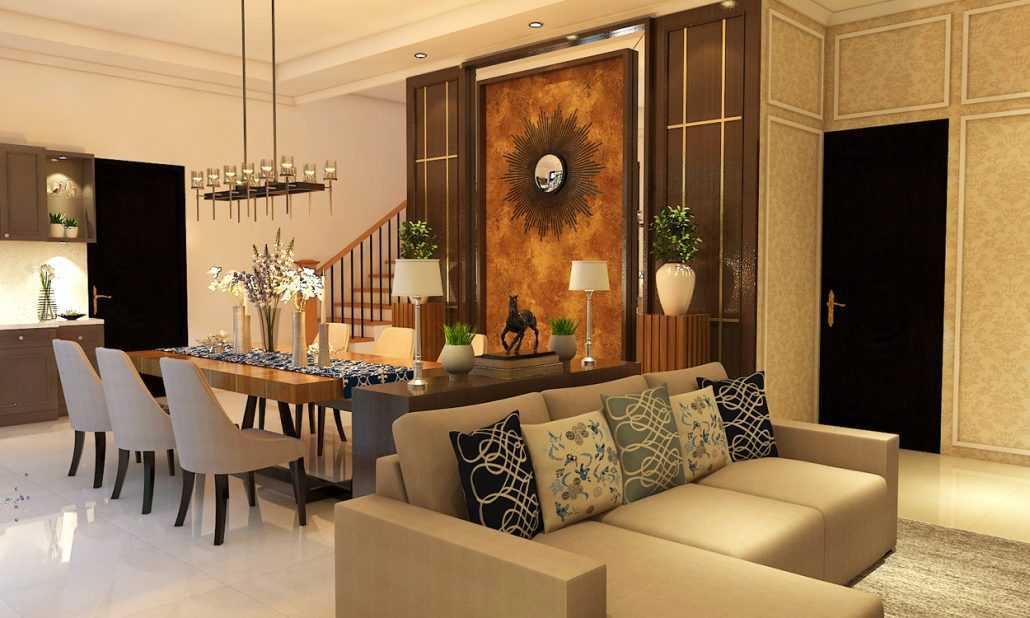 Vh Interior Colombus Cluster Cibubur, Ciracas, Kota Jakarta Timur, Daerah Khusus Ibukota Jakarta, Indonesia  Dining Room Kontemporer 42219