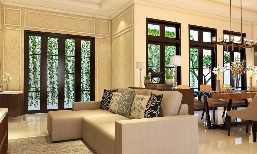 Vh Interior Colombus Cluster Cibubur, Ciracas, Kota Jakarta Timur, Daerah Khusus Ibukota Jakarta, Indonesia  Family Room Kontemporer 42220