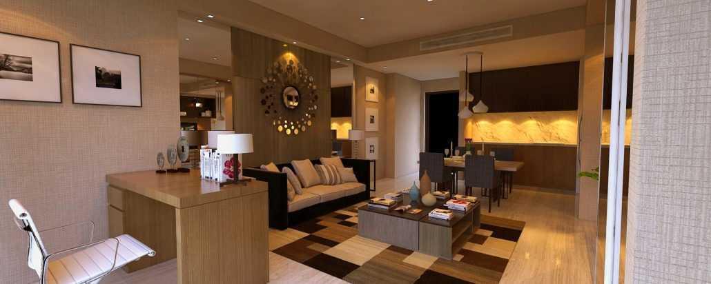 Vh Interior U Residence Karawaci, Kota Tangerang, Banten, Indonesia Karawaci, Kota Tangerang, Banten, Indonesia Living Room Minimalist 42283