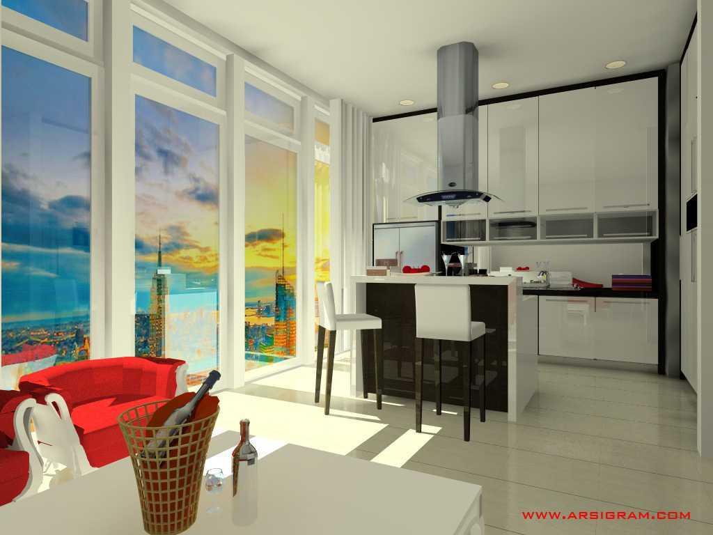 Arsigram Open Pantry Daerah Khusus Ibukota Jakarta, Indonesia Daerah Khusus Ibukota Jakarta, Indonesia Kitchen Room Modern 42054