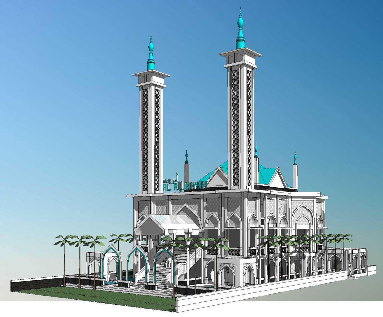 Arsigram Masjid At Serpong Serpong, Kota Tangerang Selatan, Banten, Indonesia Serpong, Kota Tangerang Selatan, Banten, Indonesia Side View Contemporary 42717