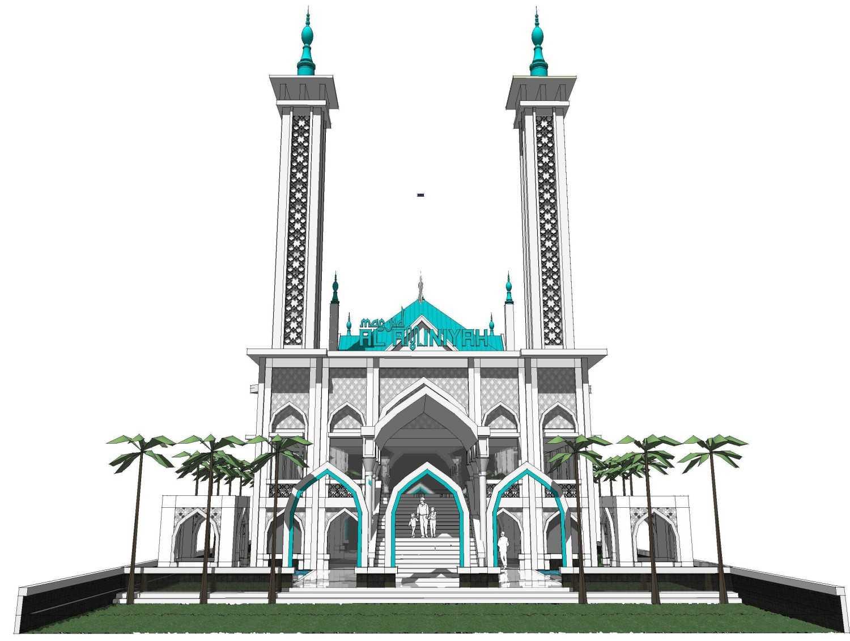 Arsigram Masjid At Serpong Serpong, Kota Tangerang Selatan, Banten, Indonesia Serpong, Kota Tangerang Selatan, Banten, Indonesia Pond Klasik 42719