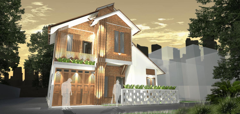 "Liika Studio Rumah ""ketika Aku Pulang"" Bandung, Kota Bandung, Jawa Barat, Indonesia Bandung, Kota Bandung, Jawa Barat, Indonesia Rumah ""ketika Aku Pulang"" - Facade  44817"