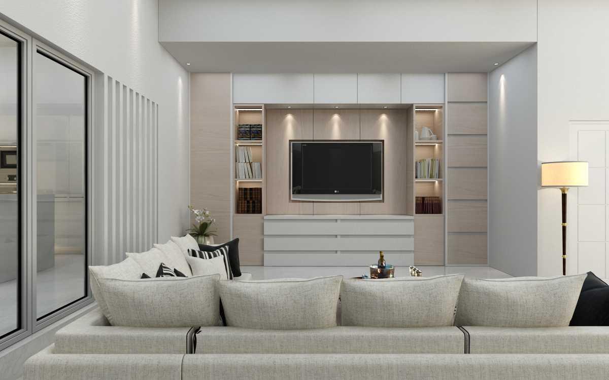 Maxima Interior & Architect Studio Furniture Fitting & Design Medan, Kota Medan, Sumatera Utara, Indonesia Medan, Kota Medan, Sumatera Utara, Indonesia Furniture Fitting & Design - Living Room  42415