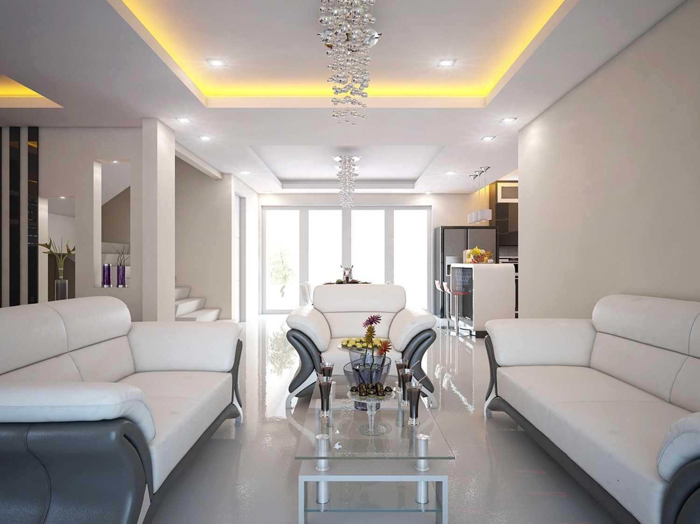 A2M Architect Indo S House Kota Makassar, Sulawesi Selatan, Indonesia Kota Makassar, Sulawesi Selatan, Indonesia Living Room Modern 43621