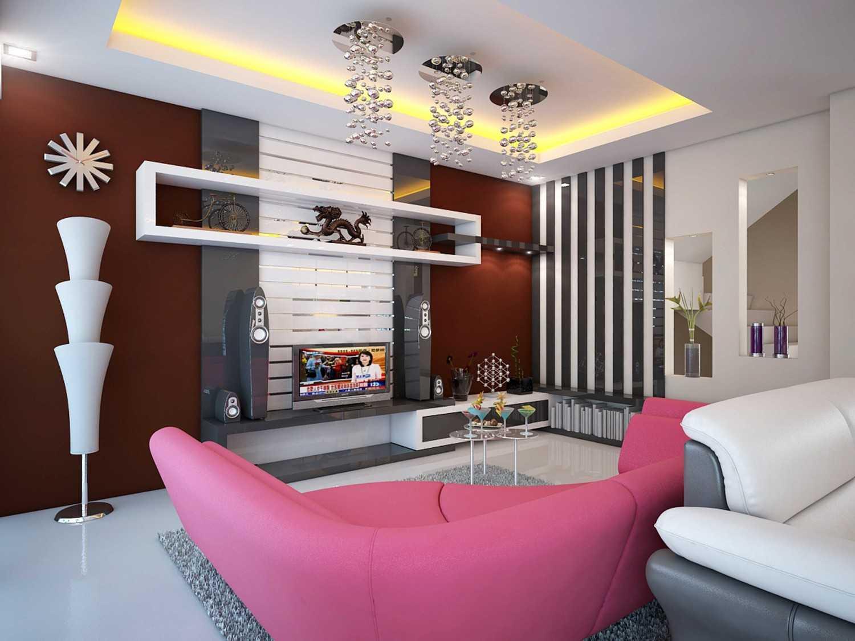 A2M Architect Indo S House Kota Makassar, Sulawesi Selatan, Indonesia Kota Makassar, Sulawesi Selatan, Indonesia Family Room Modern 43622