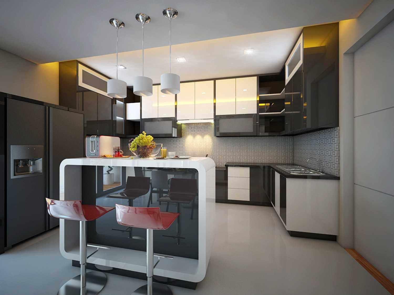 A2M Architect Indo S House Kota Makassar, Sulawesi Selatan, Indonesia Kota Makassar, Sulawesi Selatan, Indonesia Kitchen Room Modern 43624