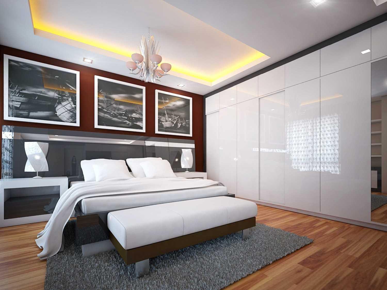A2M Architect Indo S House Kota Makassar, Sulawesi Selatan, Indonesia Kota Makassar, Sulawesi Selatan, Indonesia Bedroom Modern 43626