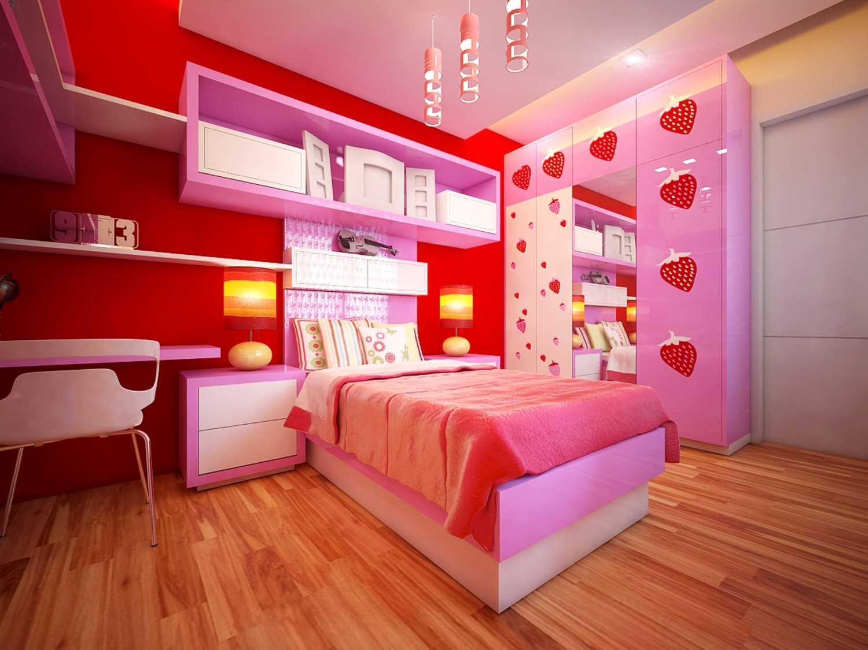 A2M Architect Indo S House Kota Makassar, Sulawesi Selatan, Indonesia Kota Makassar, Sulawesi Selatan, Indonesia Kids Bedroom Modern 43628