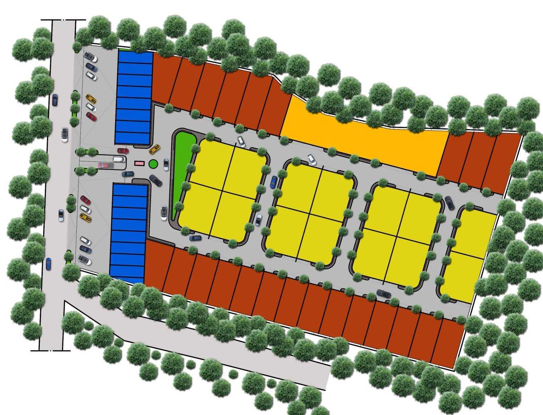 A2M Architect Indo Hera Permata Residence Balikpapan Kota Balikpapan, Kalimantan Timur, Indonesia Kota Balikpapan, Kalimantan Timur, Indonesia Aerial View Contemporary 43667