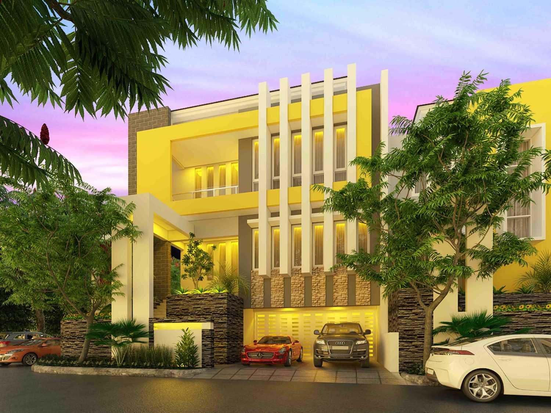 A2M Architect Indo Hera Permata Residence Balikpapan Kota Balikpapan, Kalimantan Timur, Indonesia Kota Balikpapan, Kalimantan Timur, Indonesia Front View Rendering  43671