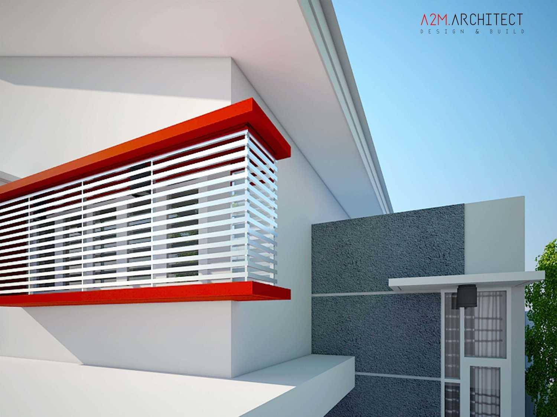 A2M Architect Indo H R House Kota Makassar, Sulawesi Selatan, Indonesia Kota Makassar, Sulawesi Selatan, Indonesia Exterior View Kontemporer 46519