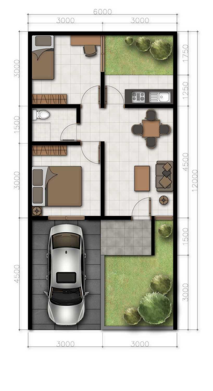 Delyuzir Architects Ayani Residence - Rangkasbitung Rangkasbitung, Kabupaten Lebak, Banten, Indonesia Rangkasbitung, Kabupaten Lebak, Banten, Indonesia Floorplan  46217