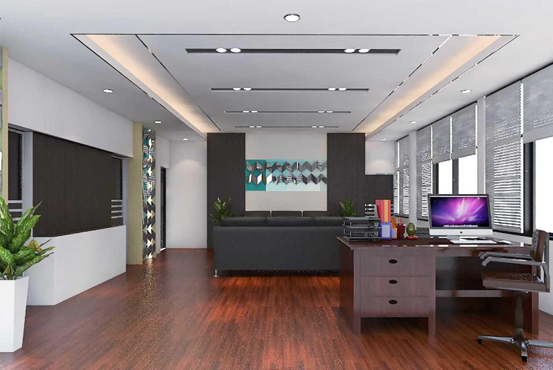 photo interior ruang direktur pdam director workroom interior ruang direktur pdam desain arsitek oleh dna corporation
