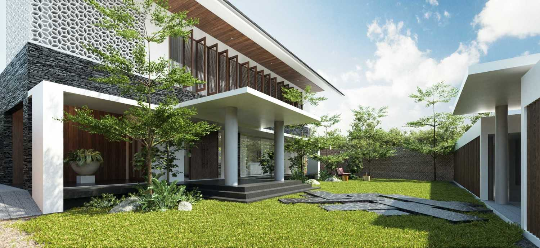 Sony Budiono & Partner Architect Firm Villa Kecil Pulau Putri Pulau Putri, Indonesia Pulau Putri, Indonesia Backyard  42785