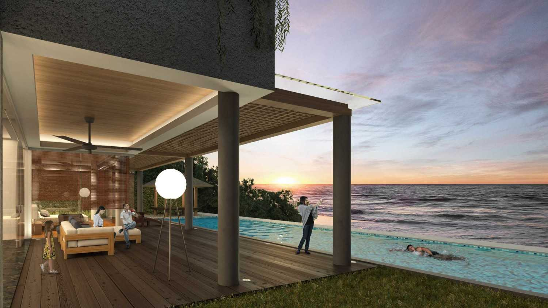 Sony Budiono & Partner Architect Firm Villa Utama  Pulau Putri, Indonesia Pulau Putri, Indonesia Swimming Pool View  42922