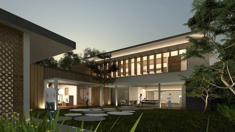 Sony Budiono & Partner Architect Firm Villa Utama  Pulau Putri, Indonesia Pulau Putri, Indonesia Courtyard  42924
