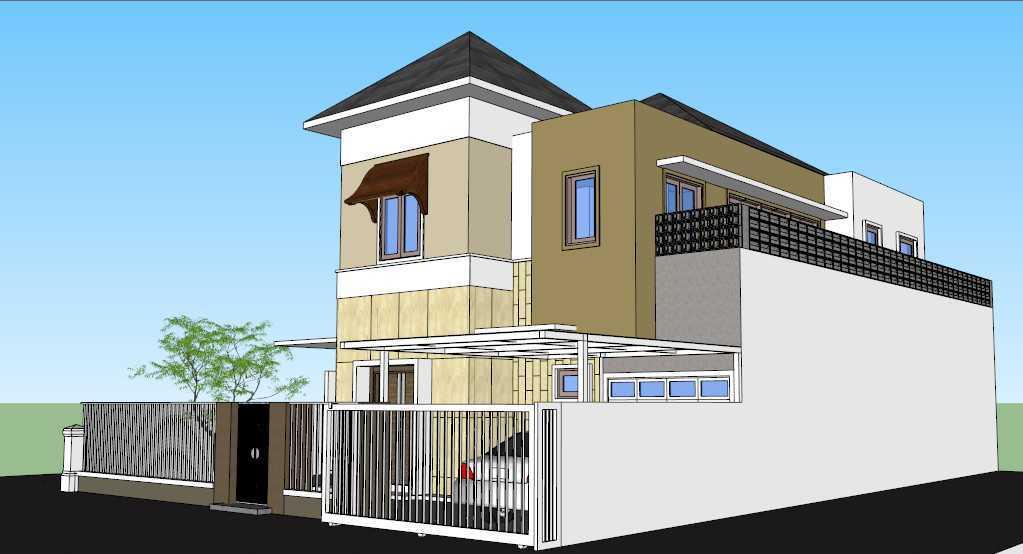 Sony Budiono & Partner Architect Firm O Residence Bencongan, Klp. Dua, Tangerang, Banten 15810, Indonesia Bencongan, Klp. Dua, Tangerang, Banten 15810, Indonesia Side View  42933