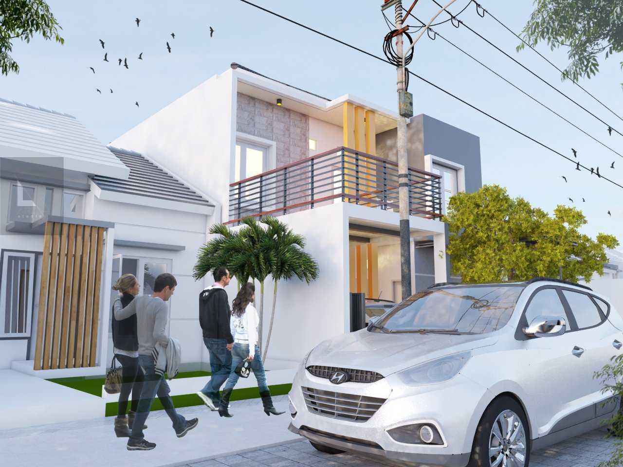 Arz Studio Desain Rumah Renovasi Di Malang Landungsari, Dau, Malang, Jawa Timur, Indonesia Landungsari, Dau, Malang, Jawa Timur, Indonesia Side View Minimalis 42708