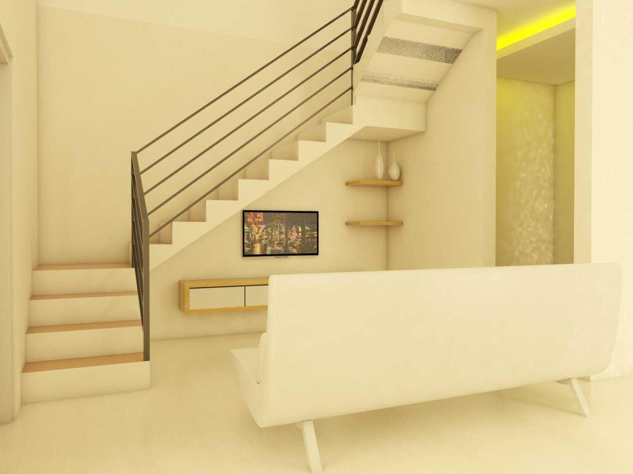 Arz Studio Desain Rumah Renovasi Di Malang Landungsari, Dau, Malang, Jawa Timur, Indonesia Landungsari, Dau, Malang, Jawa Timur, Indonesia Family Room Minimalis 46039